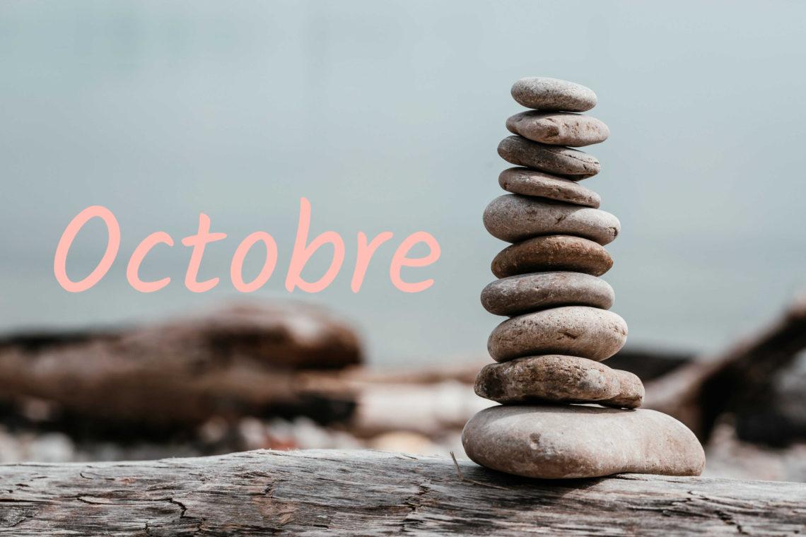 faire ses comptes pour faire le bilan du mois en octobre