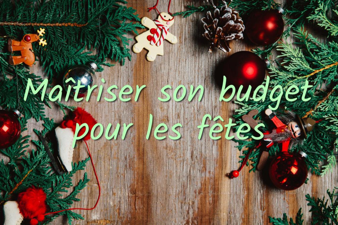budget de fête de fin d'année