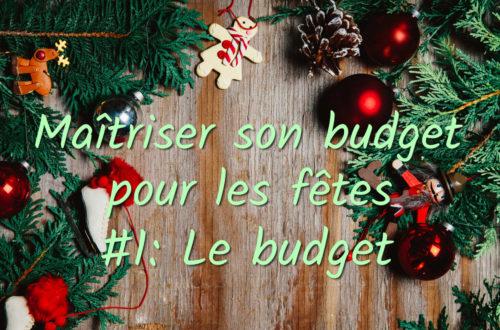 des idées pour bien maitriser son budget pour les fêtes de fin d'année